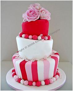 Fresh flower Wedding Cakes, Wedding Cake Designs, Madhatter Wedding Cakes