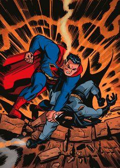 Superman vs Batman by Darwyn Cooke