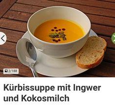 5* Kürbissuppe mit Ingwer und Kokosmilch