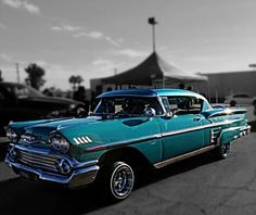 #1958#Chevy#Impala Cool Old Cars, Fancy Cars, Retro Cars, Vintage Cars, Nice Cars, Antique Cars, 1958 Chevy Impala, Chevrolet Impala, Hobby Cars