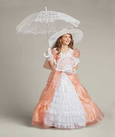 """""""Shop Chasing Fireflies for our Peachy Southern Belle Costume for Girls. Browse our online catalog for the best in unique children's costumes, clothing and more. Princess Costumes For Girls, Tween Costumes, Fairy Princess Costume, Kids Costumes Girls, Halloween Costumes For Girls, Halloween Dress, Family Halloween, Happy Halloween, Ballet Costumes"""