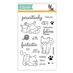 Simon Says Clear Stamps PLAYFUL KITTENS sss101561 Preview Image