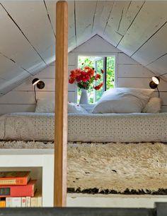 jessica helgerson's loft: sauvie island