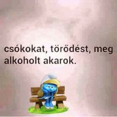 Smiley, Smurfs, Funny Quotes, Funny Pictures, Jokes, Disney, Life, Fictional Characters, Inspiration