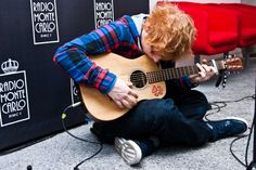 Ed Sheeran He is just too adorable...