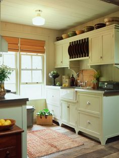 Sleek Country Kitchen Design Lowcountry Carriage House Design