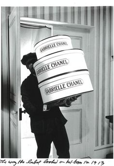 GABRIELLE CHANEL HAT DELIVERY 1913