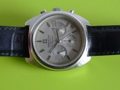 Zenith date vintage with by movado museum