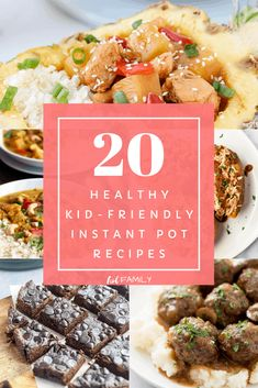 If you're short on time, pressure-cooker meals can be a lifesaver. Check out these top 20 kid-friendly and healthy Instant Pot recipes. All are gluten-free, grain-free, dairy-free, Whole 30, and Paleo. Most are even done in under an hour! #kidfriendlydinners #instantpot #instantpotrecipes #whole30 #paleo #grainfree