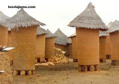 Ivory Coast Scenery | ... ivory coast picture next typical houses of senoufo korhogo ivory coast