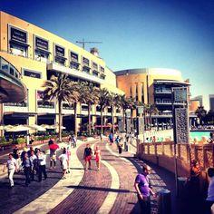 Dubai Mall : It's a beautiful morning at The Dubai Mall.. Head down and enjoy the wonderf