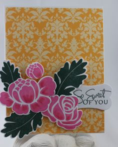 CARDS by SUSAN: Papertrey Ink 6th Anniversary ~ Design Team Favorites ~ card 2