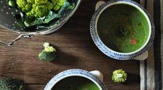 Soupe brocoli épinards