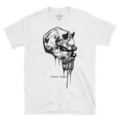 demon skull. Bad To The Bone, Good Old, Skull, Mens Tops, Fashion, Moda, Fasion, Fashion Illustrations, Fashion Models