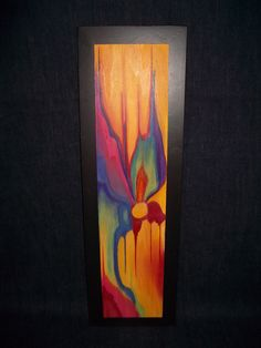 Plywood Art Reminds Me Of Rainbow Eucalyptus That I Saw