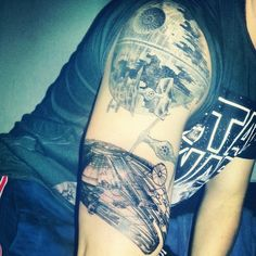 star wars tattoo <3