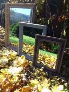 Zrkadlá v starožitných rámoch