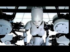 "Björk ""All is Full of Love"". Directed by Chris Cunningham."