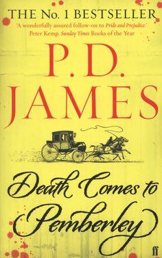 """""""Four PD James Books to Read"""" via mashable.com"""