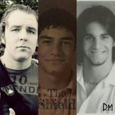 A very young Dean, Roman and Seth - wwe & wwf News Dean Ambrose Shield, Roman Reigns Dean Ambrose, Wwe Dean Ambrose, Wwe Superstar Roman Reigns, Wwe Roman Reigns, Watch Wrestling, Wrestling Stars, Divas, The Shield Wwe