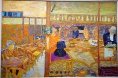 paris breakfasts: Pierre Bonnard (1867-1947) Peindre l'Arcadie Musee D'Orsay