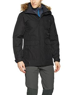 Helly Hansen Mens Dubliner Parka Black Small * To view further for this article, visit the image link. #mensoutdoorclothing First Time Camping, Shower Shoes, Mens Outdoor Clothing, Hooded Parka, Men's Coats And Jackets, Helly Hansen, Outdoor Outfit, Camping Hacks, Just Go