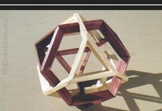 Truncated Tetrahedron Self Dual in 2 colors