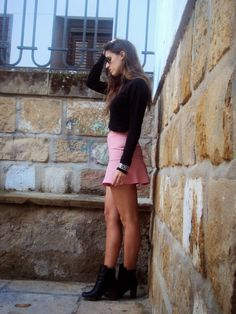 Pink & Black - #blog #blogger #style #streetstyle