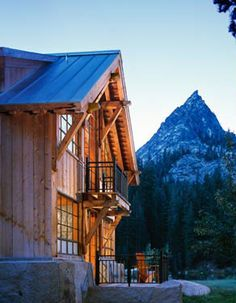 Walker-Warner Architects - WILDERNESS CABIN