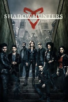 Shadowhunters T. Series Cast List-Cassandra Clare-The Mortal Instruments-paranormal-book to series-awesome-Freeform-Katherine McNamara-Dominic Sherwood Clary Fray, Clary Y Jace, Shadowhunters Malec, Shadowhunters The Mortal Instruments, Clace, Film Serie, Cassandra Clare, Best American Tv Series, Movie Posters