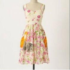 054316dd585eb On Sale🎉 Anthropologie dress Excellent condition, has cats on it. No  trades, Anthropologie Dresses