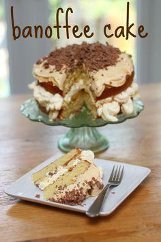 Banoffee Cake - Mummy MIshaps