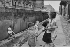 628 1962 East Berlin F:  Henri Cartier-Bresson