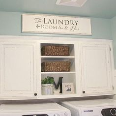 This Is Our 100 Laundry Room Makeover That My Husband And I Completed Just  A Couple, Design D Cor, Laundry Room Mud Room, How To Paint Laundry Room  Cabinets ...
