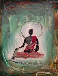 Tashi Norbu, Buddha, 2014 on Paddle8