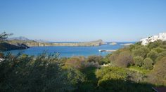 View from the Main Square of Lindos - seconds from my land