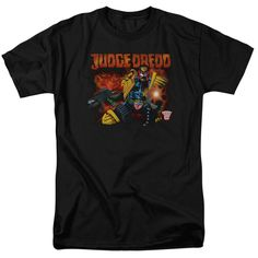 Judge Dredd: Through Fire T-Shirt