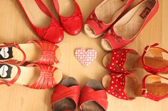 I ♥ red shoes