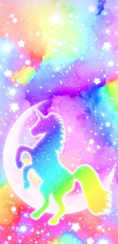 MixedRainbowUnicorn wallpaper by NikkiFrohloff - - Free on ZEDGE™ Unicorn Painting, Unicorn Drawing, Unicorn Art, Cute Unicorn, Rainbow Unicorn, Unicorn Nails, Unicornios Wallpaper, Wallpaper Fofos, Galaxy Wallpaper