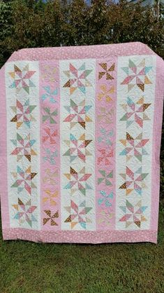 Twirlity Quilt Kit by Taunja Kelvington of Carried Away Quilting