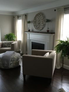 revere pewter see more our small living room and the changes we made living room furniture is the