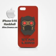 Star Lord Superhero iPhone 5 5s Hardshell Case Cover
