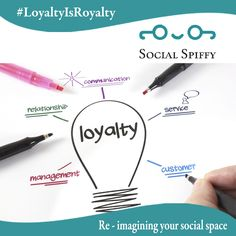 Social Spiffy's key to Loyalty is to always meet or exceed expectations of every client encounter. Visit www.socialspiffy.com to connect with us. #LoyaltyIsRoyalty #CustomerIsOurHero #DigitalMarketingTeam #ThinkCreative #ThinkSocialSpiffy