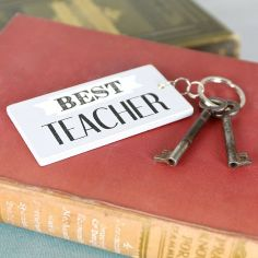 Best Teacher Keyring at lisaangel.co.uk #GiselaGraham