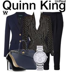 Inspired by Constance Zimmer as Quinn King on UnReal.