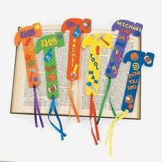 24 Fabulous Foam Dad Bookmarks - OrientalTrading.com