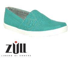 Alpargata color Acua www.calzadozull.com