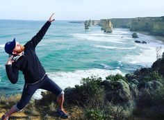 """Driving the Great Ocean Road in Victoria was even more beautiful than anticipated. Endless waves lighthouses national parks campgrounds viewpoints and koalas! This was the highlight though. Had a freezing cold and wet night in the woods but the full moon and southern cross kept me inspired. Funny thing is several people bailed on us. This is what you miss. Rarely say """"no"""" friends. The answer is always YES! by twoshanestravels http://ift.tt/1ijk11S"""