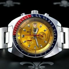 1970's SORNA Swiss Racing Sport Chronograph Watch Ebauches Bettlach Cal. 8420-74 - WE SPECIALISE IN VINTAGE CHRONOS - MORE IN OUR STORE!