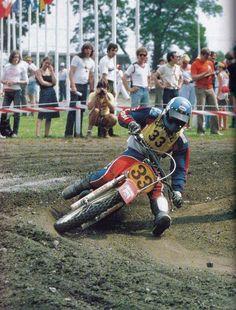 Roger DeCoster in his last GP - 1980 won both motos